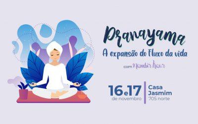 Curso Pranayama | A expansão do fluxo da vida